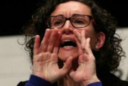 Así le da una patada en el trasero la policía suiza a Marta Rovira y al séquito de TV3 por ilegales