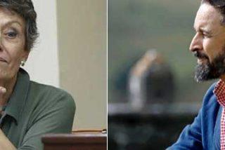 "Abascal no se guarda nada a la hora de soltar bilis contra Rosa María Mateo: ""TVE funciona ya como una máquina de propaganda de guerra del comunismo podemita"""