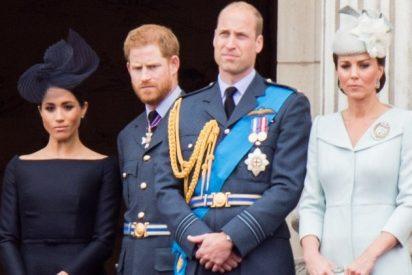 La drástica decisión de los príncipes William y Harry para terminar con la 'pelea de gatas' de sus esposas