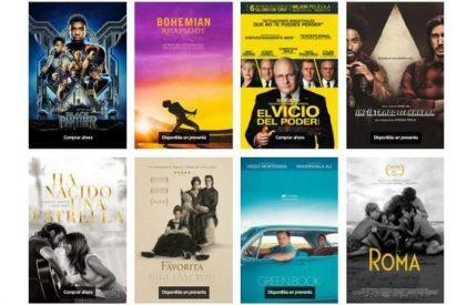 Mejores películas Oscar 2019