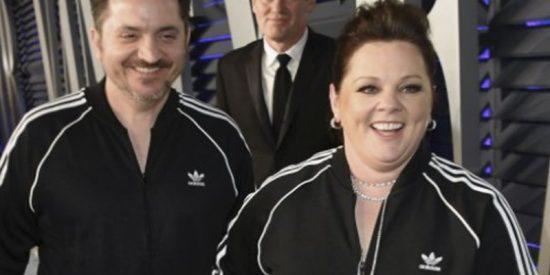 ¿Sabías que entre los vestidazos de las after party de los Oscar, se coló esta actriz en chándal?