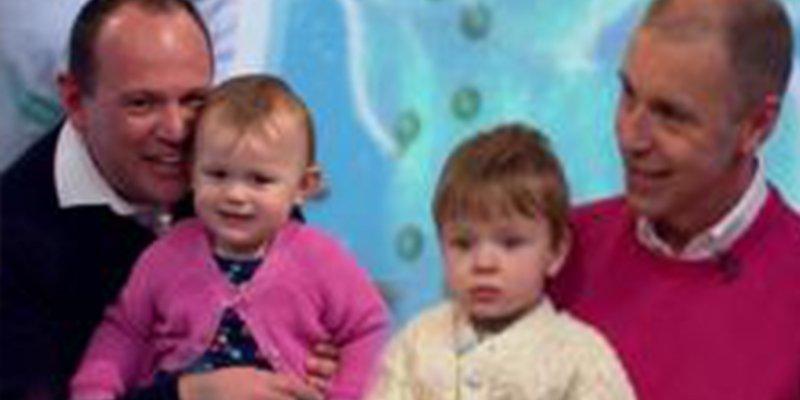 La inquietante historia de los mellizos que tienen padres distintos