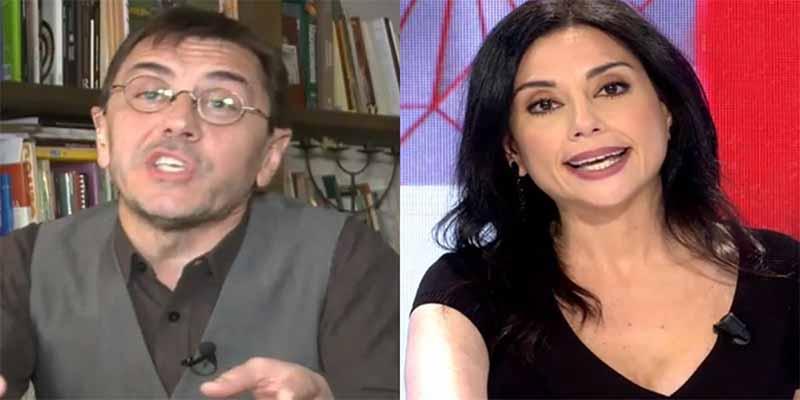 Brutal enfrentamiento de Monedero con Marta Flich en 'Todo es mentira' de Risto Mejide