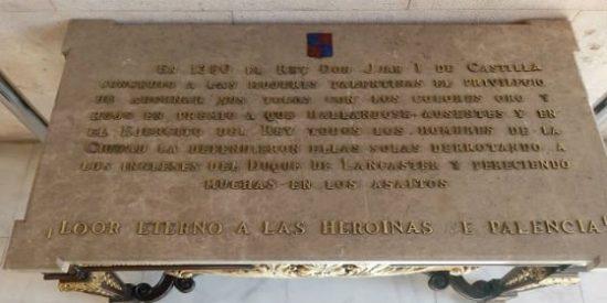"""Las Heroinas Palentinas que dieron """"una patada en el culo"""" a los Lancaster"""