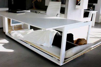 Así son las mesas para siesta que necesitas en tu trabajo