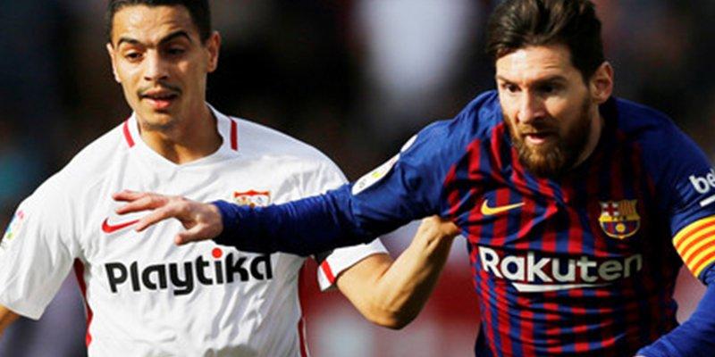 Se viraliza este mensaje dedicado a Messi escrito por un jugador del Sevilla tras caer derrotado ante el Barcelona