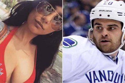 La estrella porno Mia Khalifa se tiene que operar una teta... ¡por culpa de un disco de hockey!