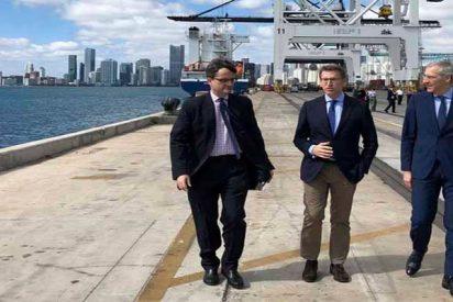 El presidente de la Xunta, Alberto Núñez Feijóo, va a Florida a buscar inversores para Galicia