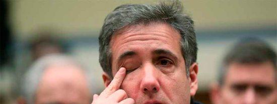 """Michael Cohen, ex abogado del presidente de EEUU: """"Trump es racista, estafador y un fraude"""""""