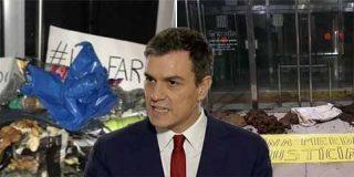 El 'okupa' Pedro Sánchez, la Justicia española y el estiercol independentista catalán