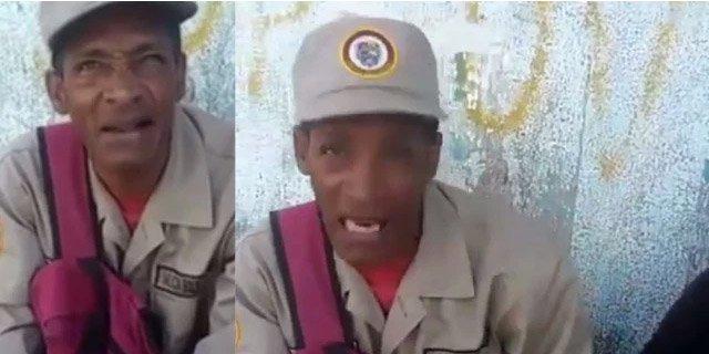 Vídeo: Un miliciano chavista desvela la inusual forma en la que defenderán la patria