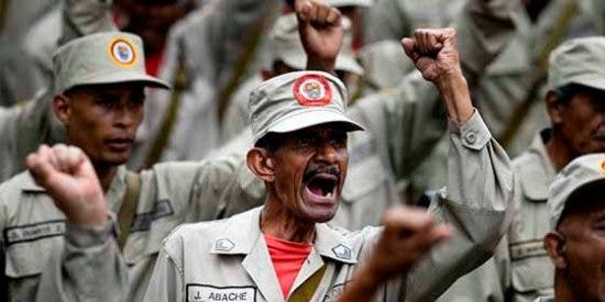 El dictador Maduro ordena la incorporación de las milicias chavistas en el ejército