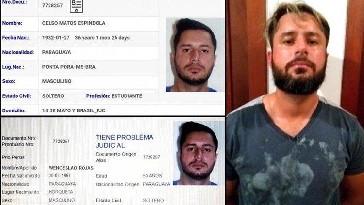 """Enjaulan al """"Minotauro"""", líder del narcotráfico en la frontera con Paraguay"""