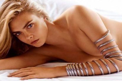 Vídeo: Cara Delevingne, posa totalmente desnuda y humeda