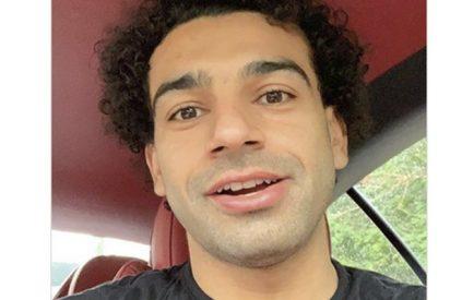 Mohamed Salah sorprende a sus fans afeitándose la barba