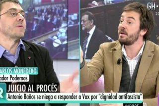 Jorge Bustos desmonta las chorradas de Monedero de comparar a los separatistas con negros oprimidos por los blancos españolistas