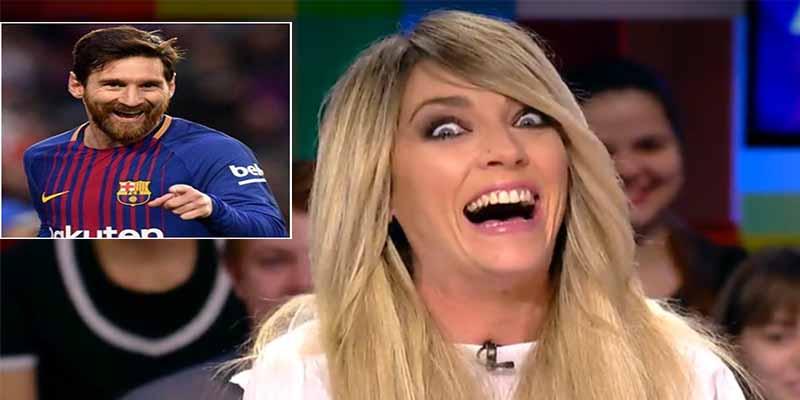 Cuando Anna Simón se metio con Messi en un ascensor y abrió la boca