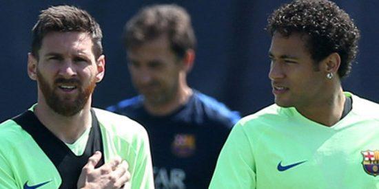 Neymar al borde de las lágrimas al hablar de Messi