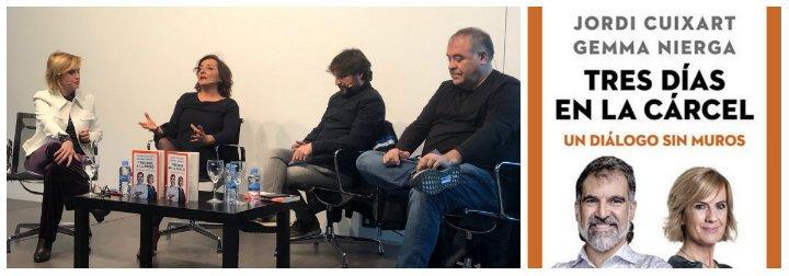 """La """"enamorada"""" Gemma Nierga blanquea al golpista Cuixart con el aplauso de Pepa Bueno, Ferreras y Évole"""