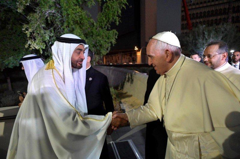 """EEUU celebra la visita """"histórica"""" del Papa a Emiratos como un impulso para la libertad religiosa"""