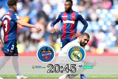 Ejercicio de fe del Real Madrid en el Ciutat de Valencia