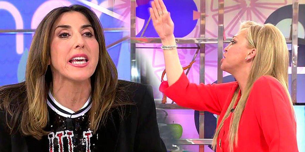 Gravísimo enfrentamiento entre Paz Padilla y los colaboradores de 'Sálvame'