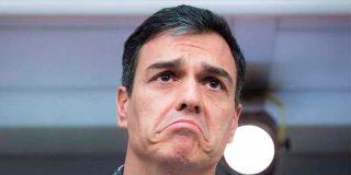 El 'okupa' Sánchez claudica ante los golpistas y acepta un 'relato' en las reuniones con los secesionistas catalanes