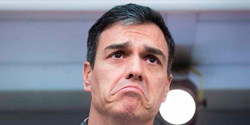 La Moncloa filtra que el 'okupa' Sánchez hará elecciones generales el 14 de abril y luego lo niega