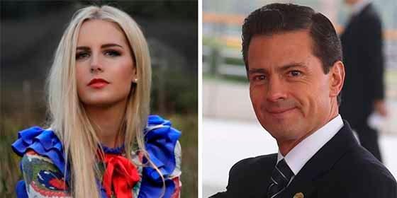Tania Ruiz confiesa qué le enamoró del expresidente mexicano Peña Nieto