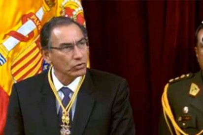 El presidente de Perú pide en el Congreso español libertad para Venezuela y PSOE y Podemos se niegan a aplaudir
