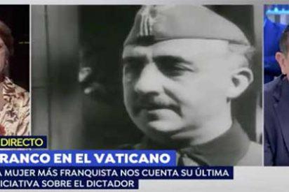 """Arsenio Escolar se presta al 'show' televisivo y acaba siendo víctima de la trituradora Pilar Gutiérrez: """"¡Anda que está usted enterado!"""""""