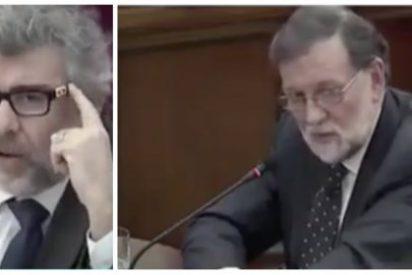 Un abogado de los golpistas intenta tener su minuto de gloria con Rajoy y acaba hecho fosfatina