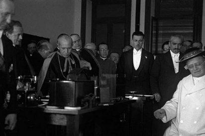 12 de febrero de 1931, el día en que el Papa salió en la Radio