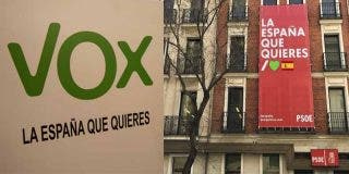 VOX pilla al PSOE copiando su eslogan electoral y lo deja en ridículo en Twitter