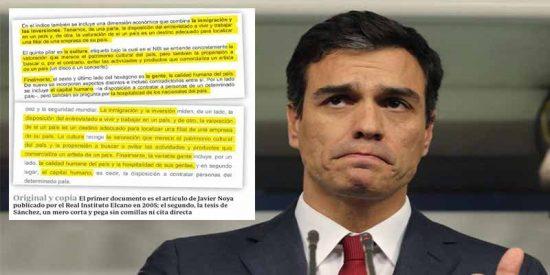El 'TesisFake' de Pedro Sánchez: el 52% de la tesis del 'Doctor Plagio' socialista está copiado o tiene errores