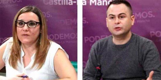 Los dos diputados de Podemos en Castilla-La Mancha piden sancionarse el uno al otro
