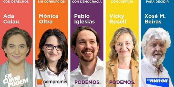 Los 'enanos' de Pablo Iglesias: Las confluencias de Podemos se rompen en Galicia y Valencia