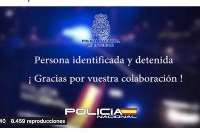 La Policía Nacional agradece a las redes su ayuda para esclarecer un crimen
