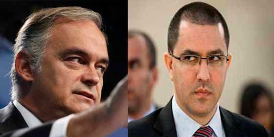 """González Pons le quita la careta al canciller de Maduro: """"Fue él quien firmó la orden de expulsión"""""""