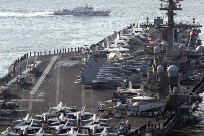 La 'sutil' amenaza de EEUU a Maduro: Coloca un portaaviones nuclear y otros seis barcos frente a Florida