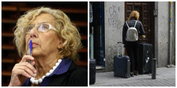 """Reportaje PD/Carmena se olvida del infierno que sufren los vecinos del centro por el alquiler turístico : """"Estoy harto de quejarme al Ayuntamiento de Madrid"""""""