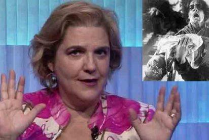 La indepe Pilar Rahola presume de haber visto en ruso 'El acorazado Potemkin'... que es una película muda