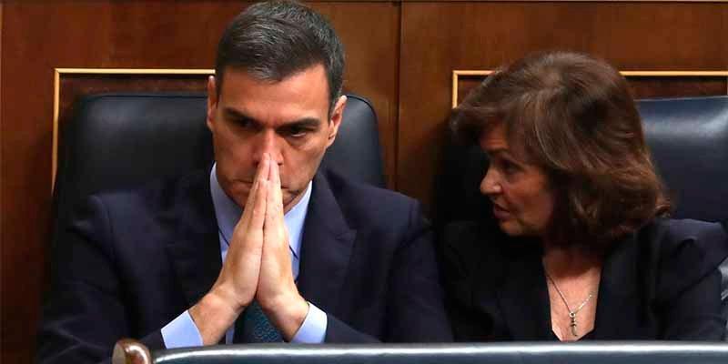 El Congreso tumba los Presupuestos y 'condena a muerte' al gobierno del 'okupa' Sánchez
