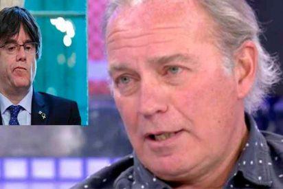 """Bertín Osborne describe a Puigdemont: """"el cobarde este que parece que tiene una rata en la cabeza"""""""
