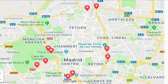 Madrid: Estos son los 10 radares que sacan cada año 50 millones en multas a los madrileños