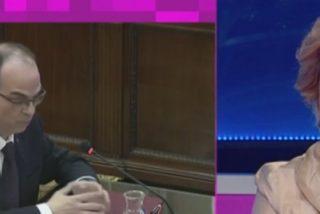"""La babosa tropa de la TV3 encabezada por Rahola jalea al golpista Turull: """"Se han comido al tribunal con patatas"""""""