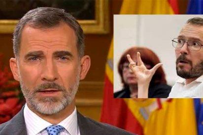 """Los zarrapastrosos de Podemos insultan así al Rey de España: """"Fue el espermatozoide más rápido"""""""