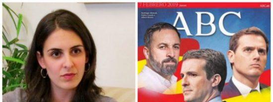 Rita Maestre se pone como el bicho del pantano con esta portada del ABC y en Twitter le parten la cara