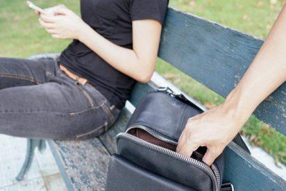 Esta mujer da una paliza a un ladrón que intentó robarle el móvil