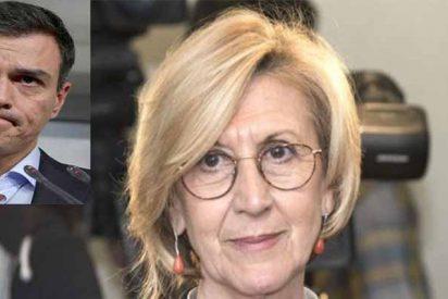 Rosa Díez propone montar una moción de censura a Sánchez para que se retrate otra vez con separatistas y proetarras